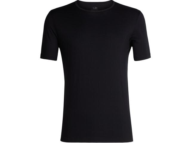 Icebreaker 200 Tech SS Crew Shirt Men Black